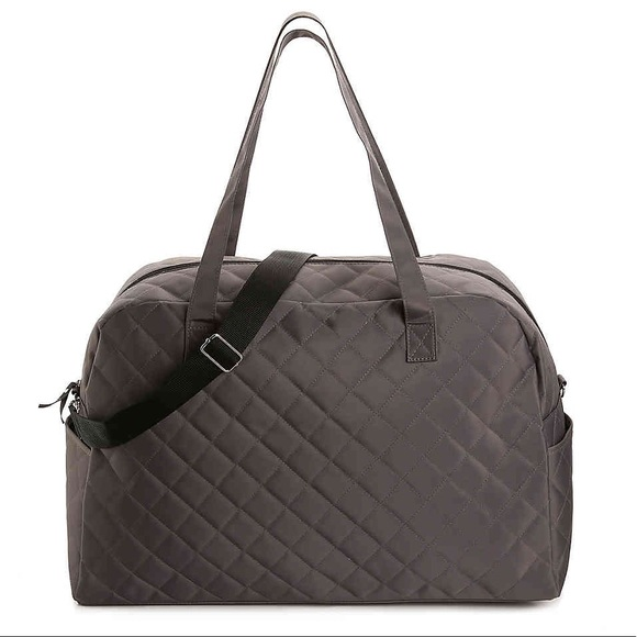 68414f7bce7a DSW Bags   Exclusive Quilted Duffle Bag   Poshmark